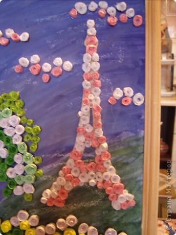 В прошлом году я была в Париже.  А забыть Париж невозможно!!! Так захотелось туда снова. Хотя бы на картине фото 4