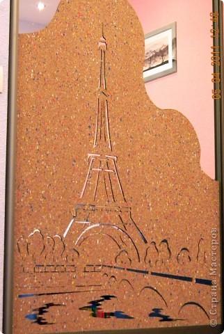 Эйфелевая башня ширина 93 см высота 120см