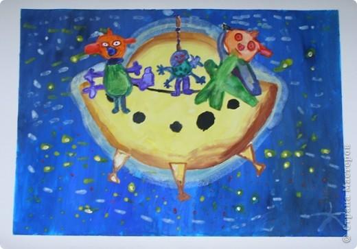 Работы детей старшей группы (5-6 лет). фото 5