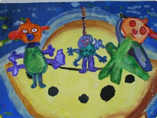Работы детей старшей группы (5-6 лет). фото 6