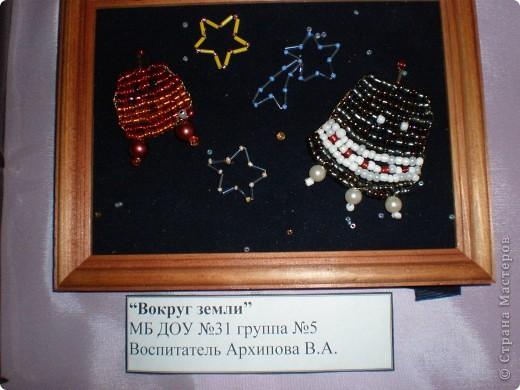 В нашем детсаду в спортивном зале проходила выставка работ, посвящённая дню космонавтики.  фото 4