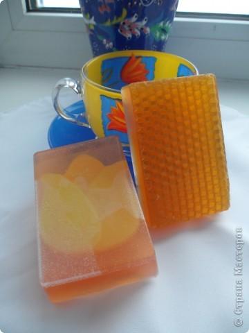 Мыло с люфой и ароматом тропических фруктов. фото 3