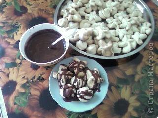 Печенье в шоколадной глазури фото 1