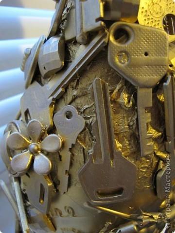 """Так сказал мой знакомый, когда увидел эту бутылку.  А обычно сразу спрашивают:""""где взяла столько ключей?"""" Отвечаю - столько обнаружилось при переезде :) фото 2"""