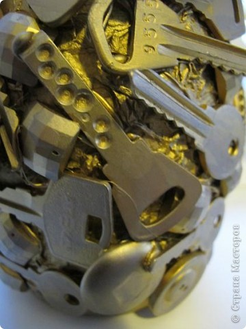 """Так сказал мой знакомый, когда увидел эту бутылку.  А обычно сразу спрашивают:""""где взяла столько ключей?"""" Отвечаю - столько обнаружилось при переезде :) фото 3"""