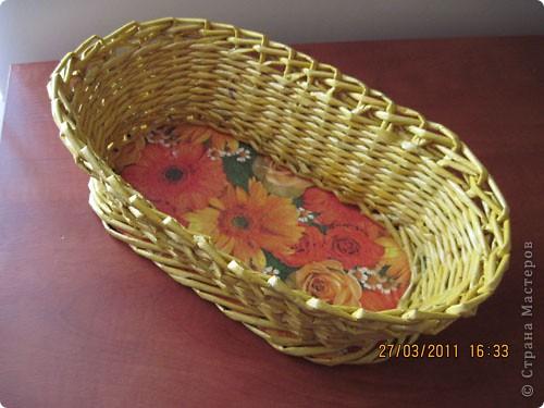 Корзиночка для печенья фото 1