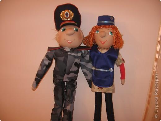 """А это мои подарки друзьям на Новый год"""" портретные куклы"""""""