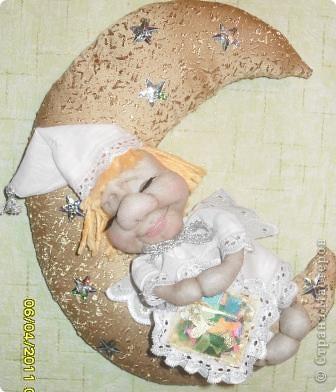Вот такой милый ангелок у меня сегодня родился. Сделала его по МК Ликмы. Огромное ей за это СПАСИБО! фото 3
