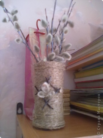 Вот такая еще вазочка фото 3