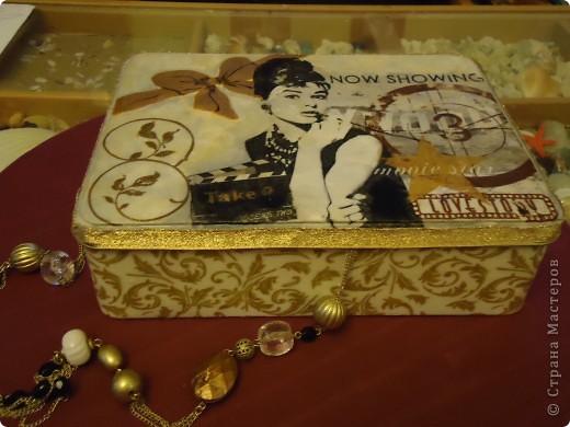 шкатулка для украшений Завтрак у Тиффани) фото 1