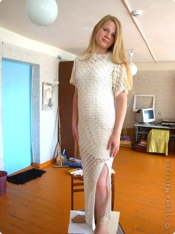 Несколько вязаных платьев фото 5