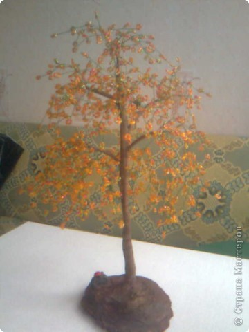 """Дерево """"Осень золотая"""" фото 3"""