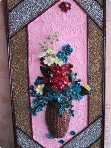 """Картина """"Полевые цветы"""" ХФ фото 3"""