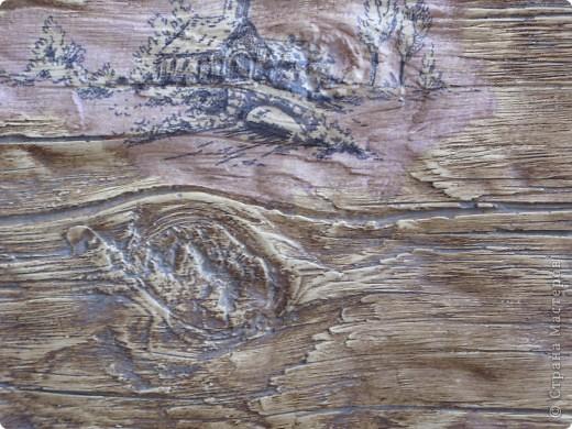 Старое дерево на гипсе. фото 6