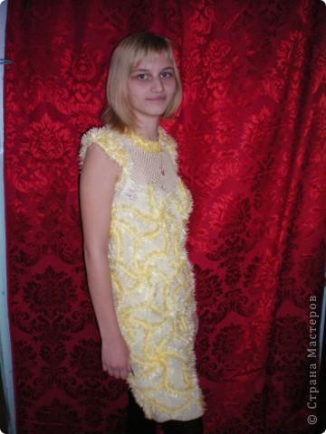 Несколько вязаных платьев фото 3