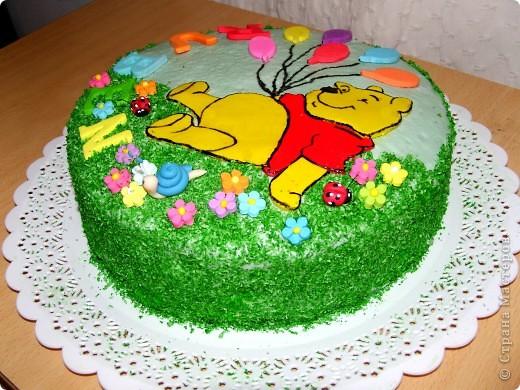 Тортик сыну на полтора годика:) фото 2