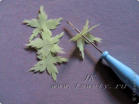 Мастер-класс цветы из ткани.   Белая роза без специальных инструментов.  Гофрированная. фото 19