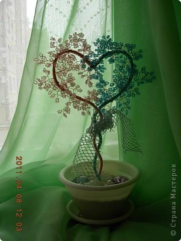 дерево любви(повторялочка спасибо за мк) фото 5