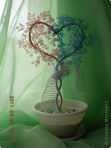 дерево любви(повторялочка спасибо за мк) фото 3