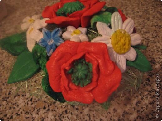 Цветочки в горшочке фото 2