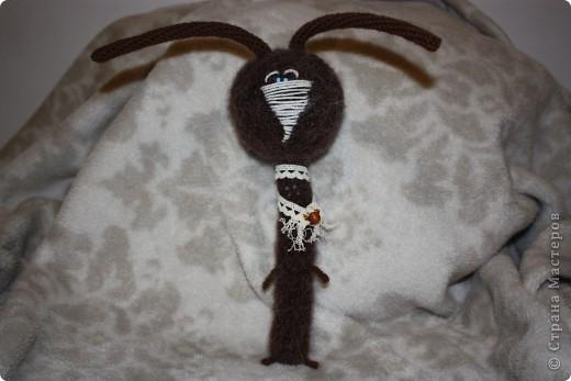 """кому надоело - не смотреть :)  свободное время """"привалило"""" :)  а от старой привычки кроловязания избавится никак не могу - вот вчерашние:  крол шоколaдно- ванильный фото 1"""