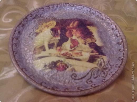 моя тарелочка пробовала сделать из скорлупы фото 1
