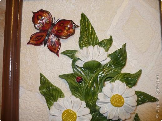 И ещё ромашки, по МК Марины Архиповой (соленое тесто) фото 2