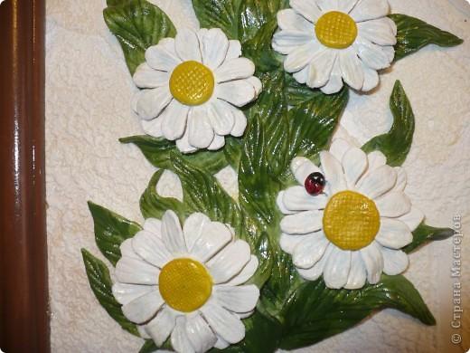 И ещё ромашки, по МК Марины Архиповой (соленое тесто) фото 3