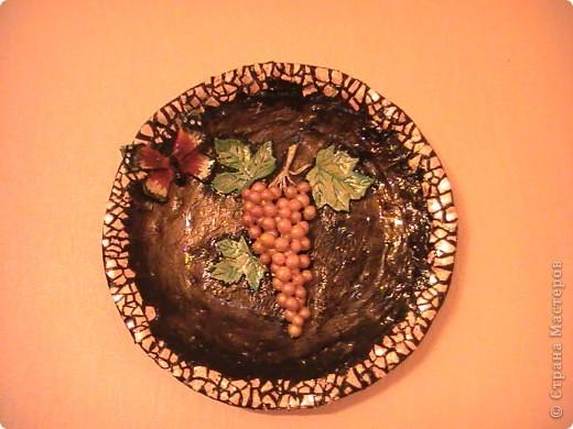 Тарелочка в подарок для свекрови фото 1