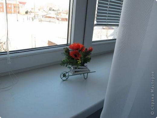 Ну что, пойдемте оформлять следующую комнату? Начало можно посмотреть здесь http://stranamasterov.ru/node/173160 Комната только планировалась быть гостевой, а т.к. моя любимая сестра бывает у меня часто, то комната делалась уже с учетом ее пожеланий и с ее участием.  Поехали? фото 25