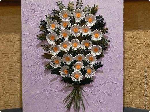 Наконец сегодня собрала свои любимые цветы- Букет ромашек)))) фото 1