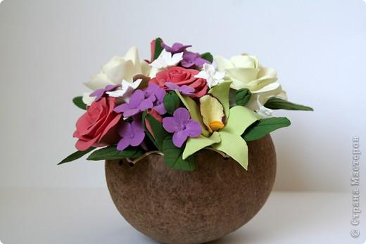 Орхидеи, гардении, розы ) фото 3