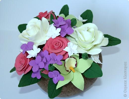 Орхидеи, гардении, розы ) фото 4