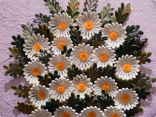 Наконец сегодня собрала свои любимые цветы- Букет ромашек)))) фото 3