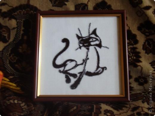 Подарок для директора на день рождения, вышивала 2месяца. фото 3