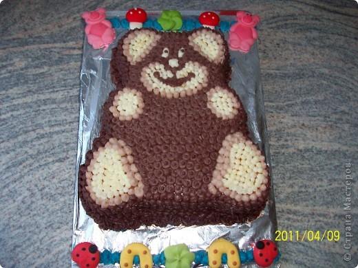 Торт...Мишка... фото 3