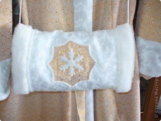 Снегурочка. Костюм шила для детского сада, который посещает сын. фото 5