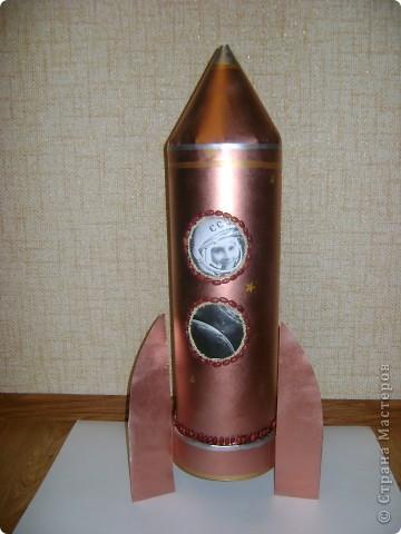 Эту ракету мы сделали в школу! фото 2