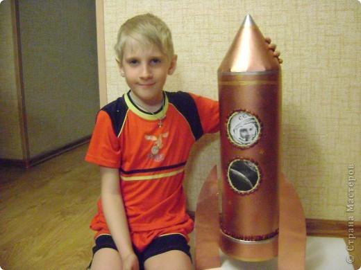 Бумагопластика - Юный космонавт.