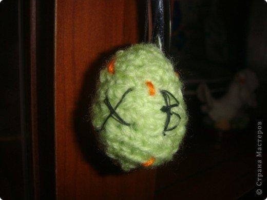 Яйцо вязала крючком. фото 2