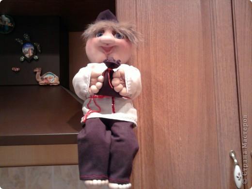 Домовой,пока шила поняла ,кукла как ребенок родится когда придет время. фото 1