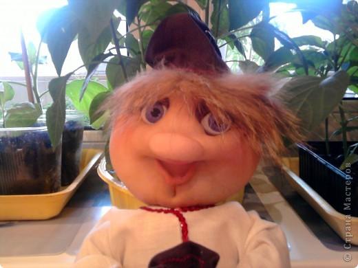 Домовой,пока шила поняла ,кукла как ребенок родится когда придет время. фото 2