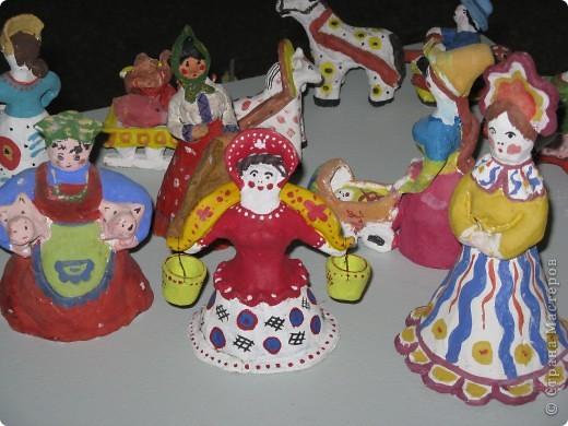 Барыни по мотивам дымковской игрушки. фото 2