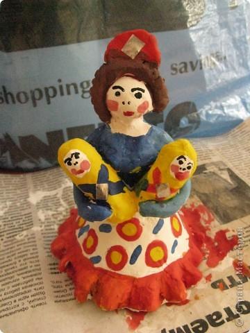 Барыни по мотивам дымковской игрушки. фото 3