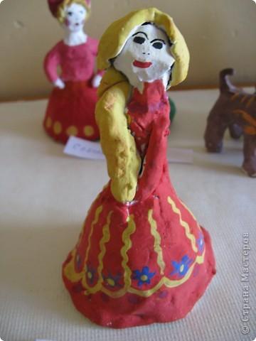 Барыни по мотивам дымковской игрушки. фото 8