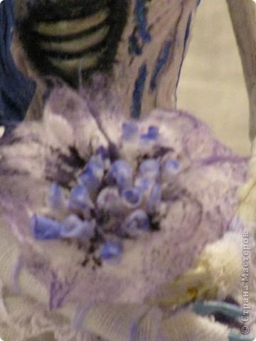 """Эмили  Персонаж мультика Тима Бёртона """"Труп невесты""""  Холодный фарфор, 31 см, 16 точек артикуляции. фото 2"""
