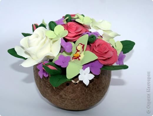 Орхидеи, гардении, розы ) фото 1