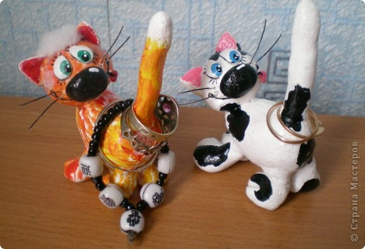 Коты для колечек