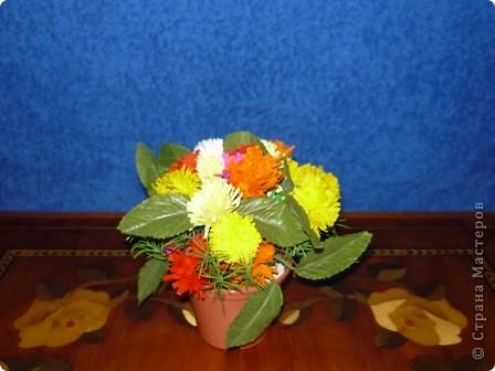 Букетик весенних цветов