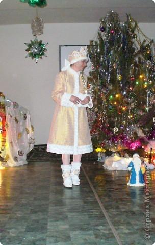 Снегурочка. Костюм шила для детского сада, который посещает сын. фото 6